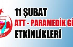 11 Şubat ATT-Paramedik Günü Etkinlikleri