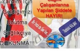 Sağlıkçıma dokunma imza kampanyası!!!
