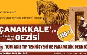 TAPDER Çanakkale Gezisi